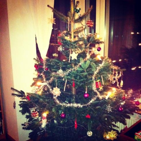 Vår julgran 2012
