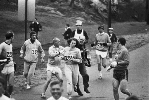 Boston maraton 1967