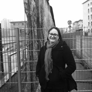 Jag vid Berlinmuren