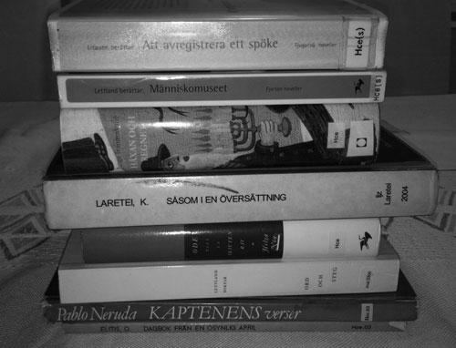 Böcker jag lånade
