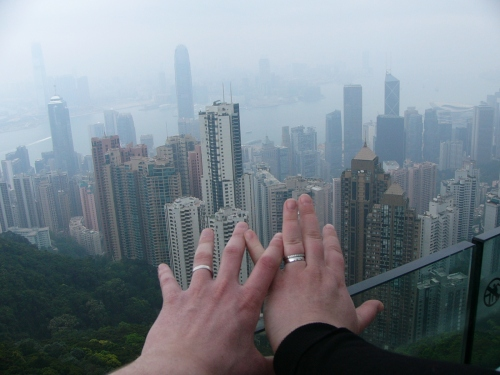Bröllopsresa till Hongkong