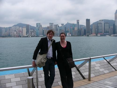 Hongkong skyline