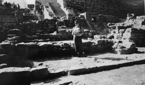 Jag i Knossos
