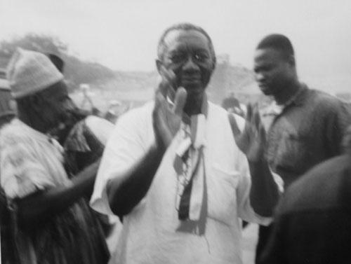 John Kufuor - Ghanas blivande president