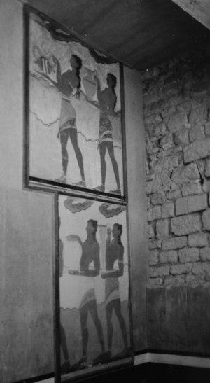 Målning i Knossos