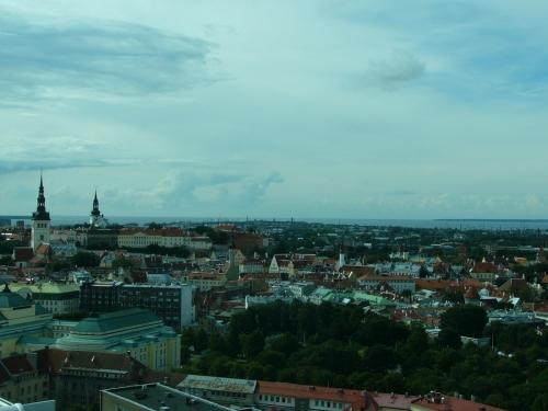Tallinn sett från ovan