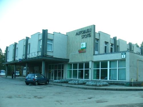 Busstationen i Druskininkai