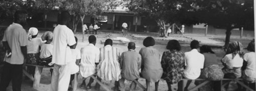 Rösträkning i Ghana
