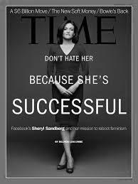 Sheryl Sandberg på Times omslag