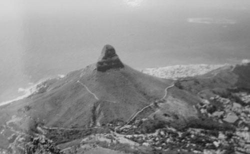 Utsikt från Taffelberget i Kapastaden