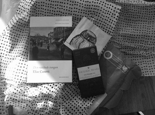 Paket från Josefin å Nobelprisprojektet