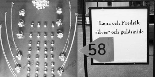 Lena och Fredriks silversmide